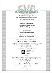 SVG-Zertifikat